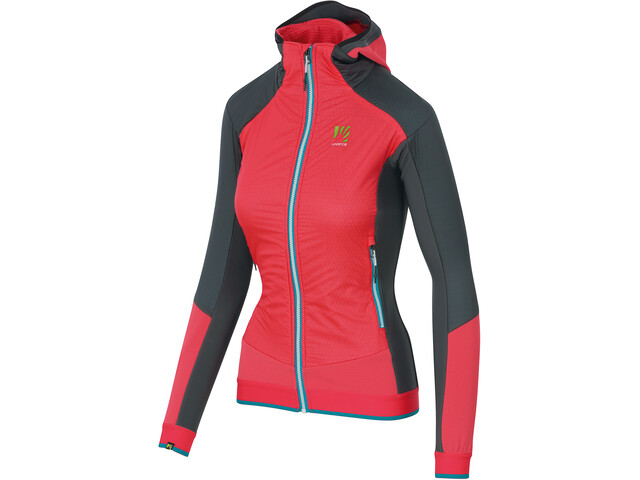 Karpos Alagna Plus Evo Jacket Women cayenne/asphalt/bluebird